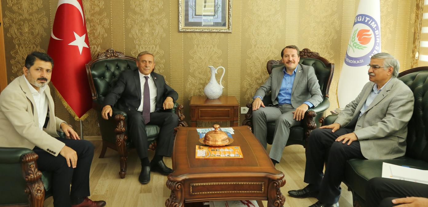 CHP Genel Başkan Yardımcısı Kaya'dan sendikamıza ziyaret